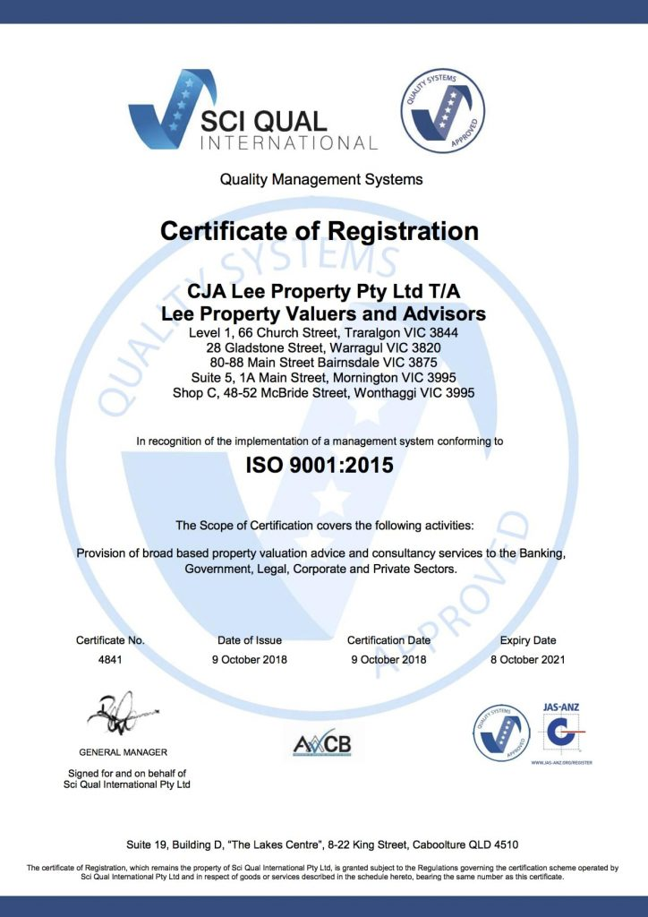 LPVA Quality ISO9001 2015 eCert 2018 min 724x1024 - About Lee Property